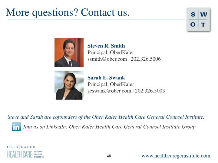 More questions? Contact us.