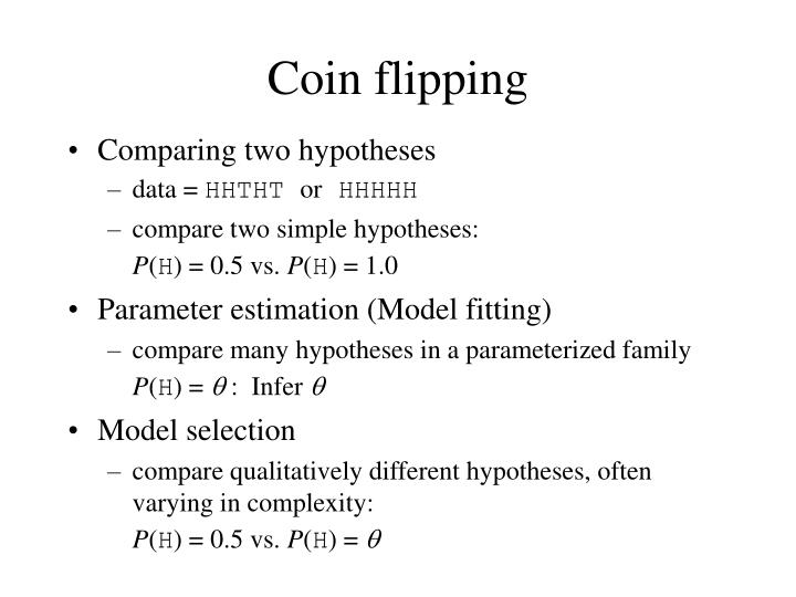 Coin flipping
