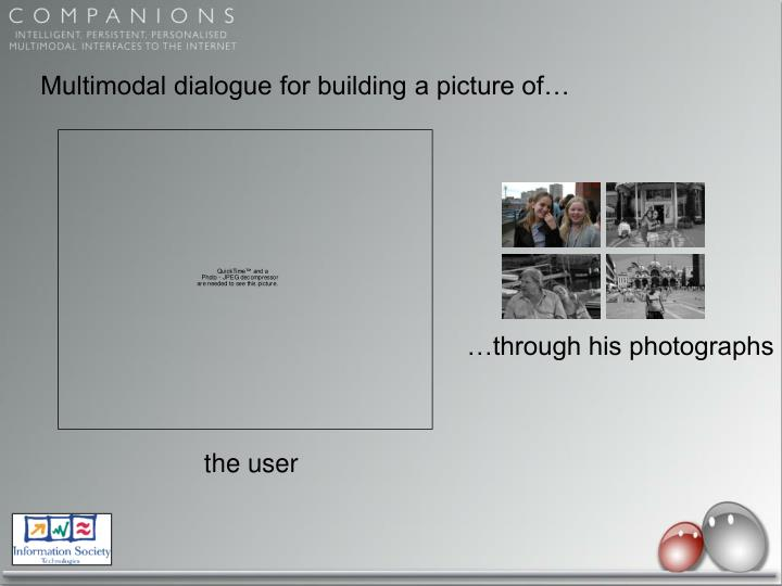 Multimodal dialogue for building a picture of…