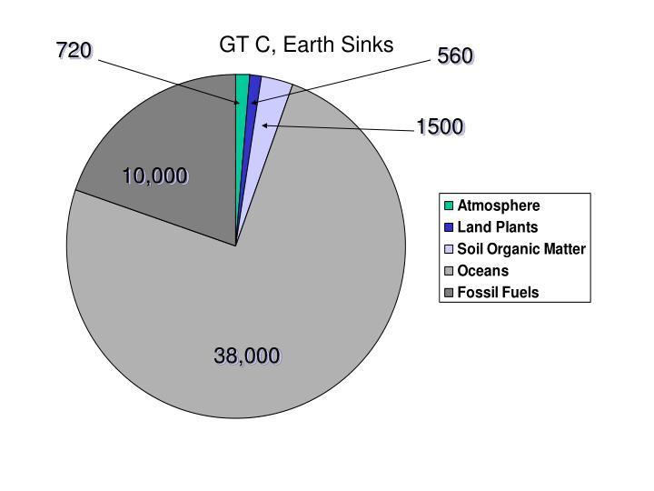 GT C, Earth Sinks