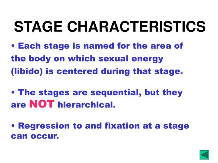 STAGE CHARACTERISTICS