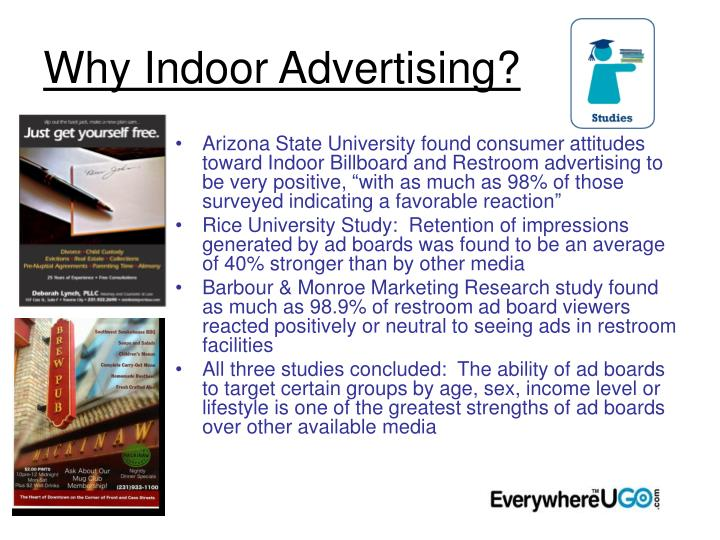 Why Indoor Advertising?
