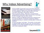 why indoor advertising