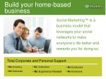 build your home based business