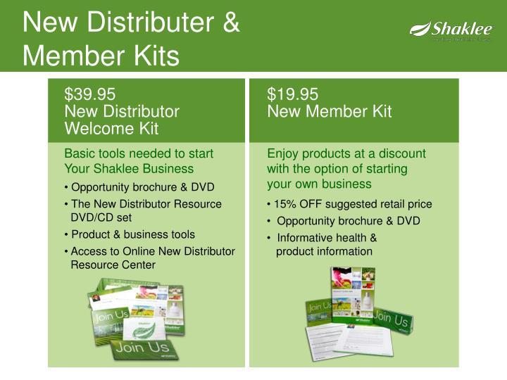 New Distributer &