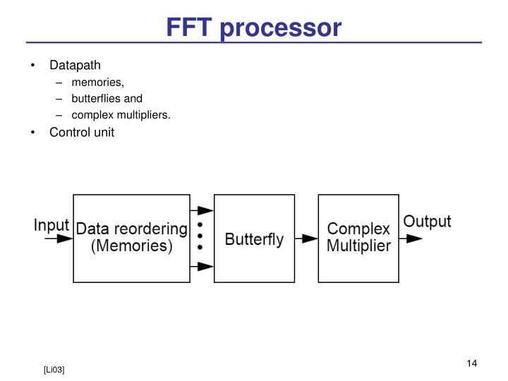 FFT processor