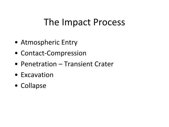 The Impact Process