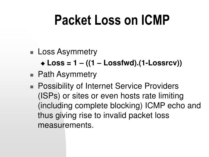 Packet Loss on ICMP
