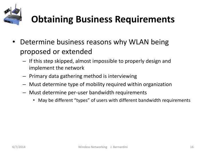 Obtaining Business Requirements