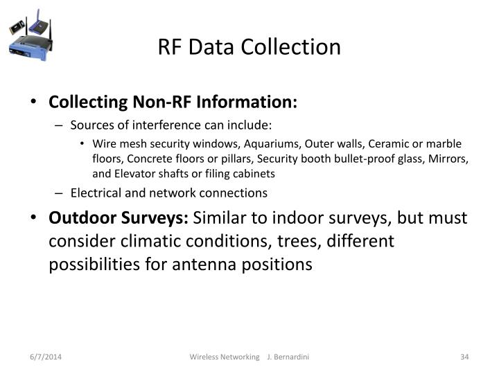 RF Data Collection