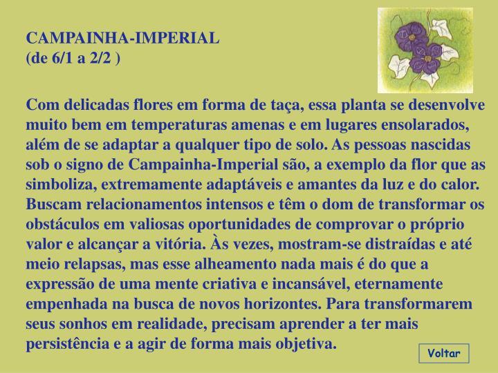 CAMPAINHA-IMPERIAL
