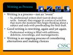 writing as process