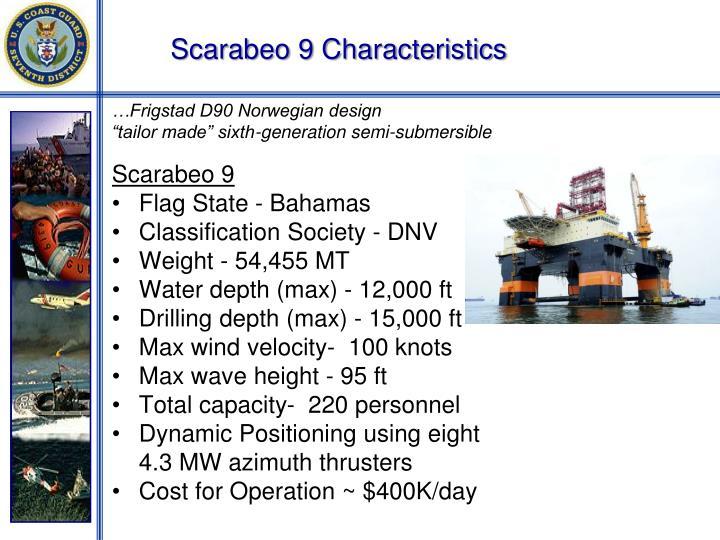 Scarabeo 9 Characteristics