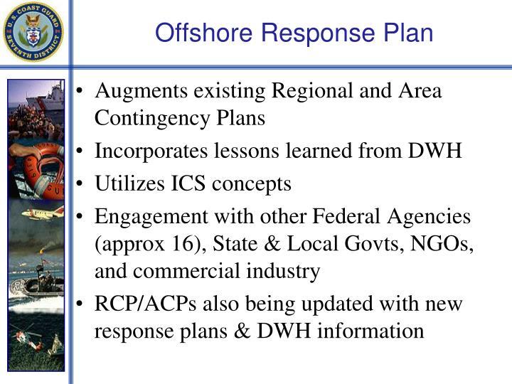 Offshore Response Plan