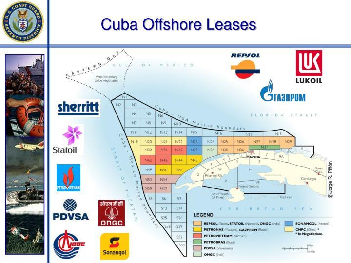 Cuba Offshore Leases