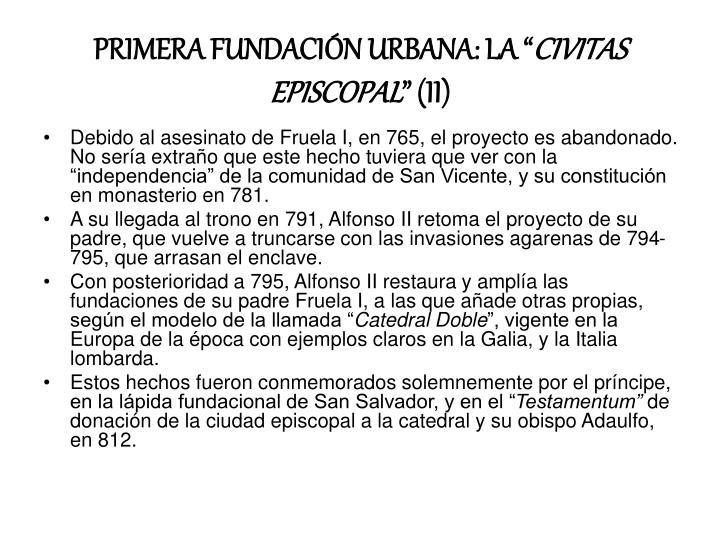 """PRIMERA FUNDACIÓN URBANA: LA """""""