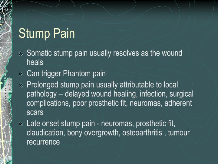 Stump Pain