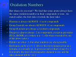 oxidation numbers4