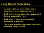 using mutual recursions1