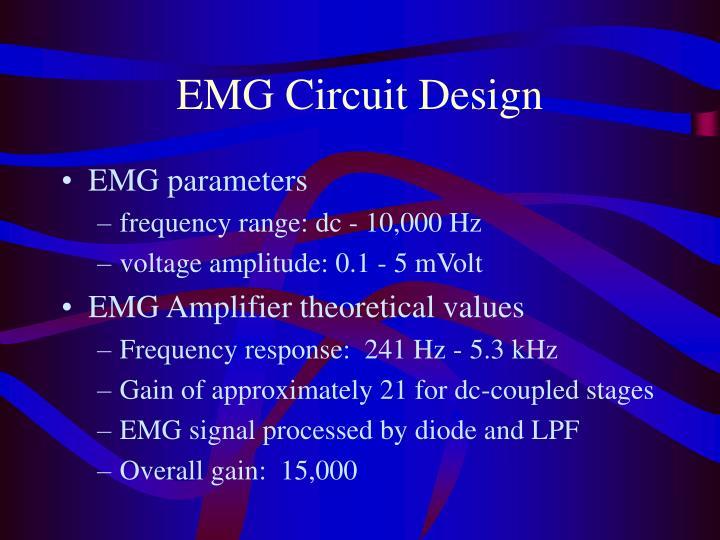 EMG Circuit Design