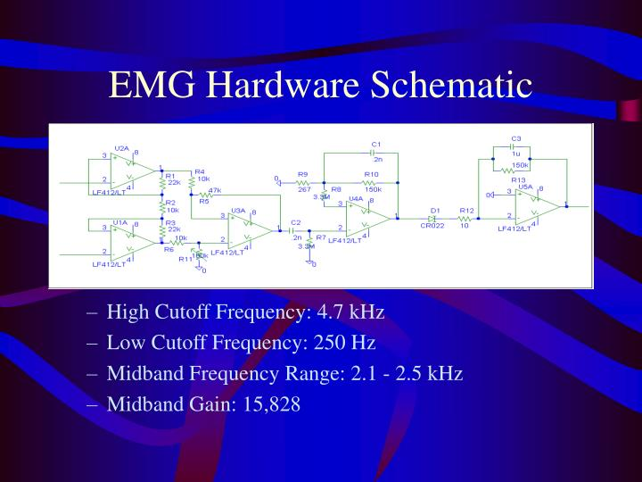 EMG Hardware Schematic