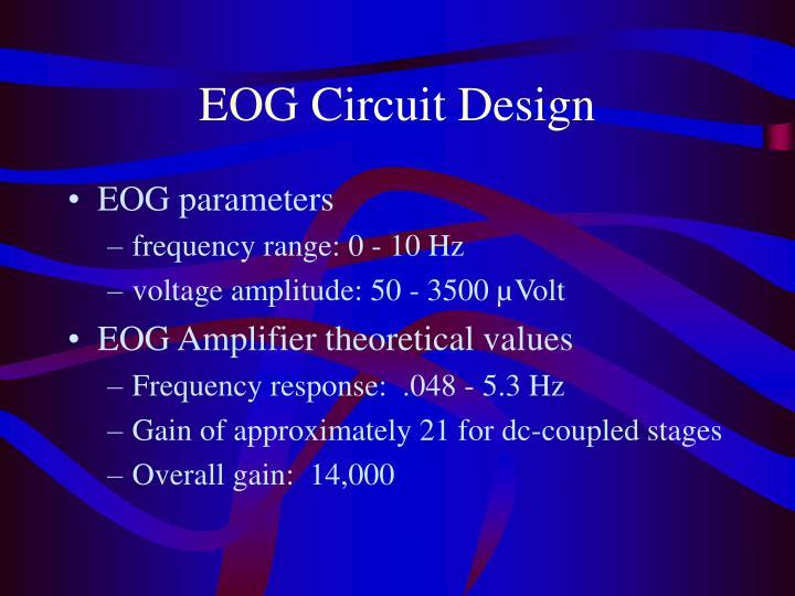EOG Circuit Design