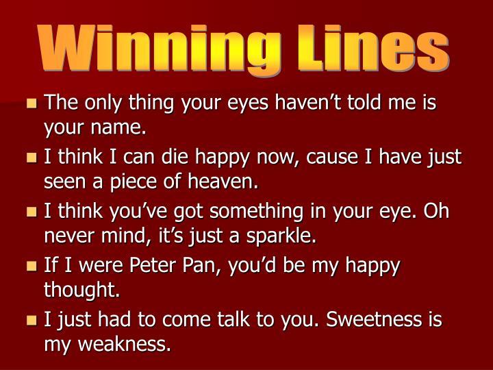 Winning Lines