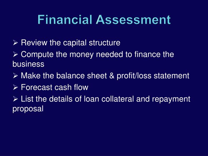 Review the capital structure