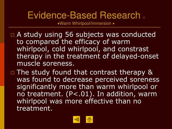 Evidence-Based Research