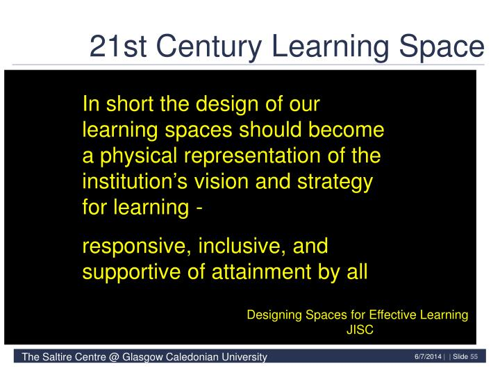 21st Century Learning Space