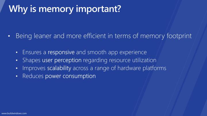 Why is memory important?
