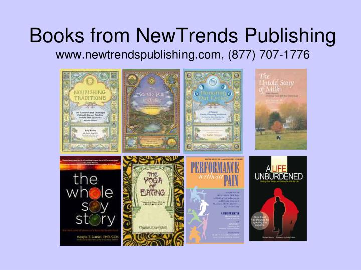 Books from NewTrends Publishing
