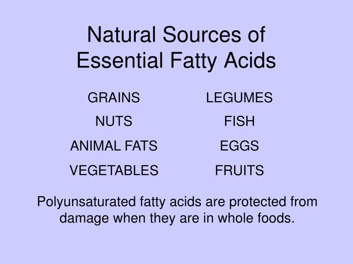 Natural Sources of