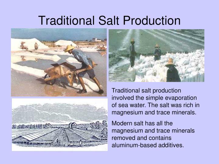 Traditional Salt Production