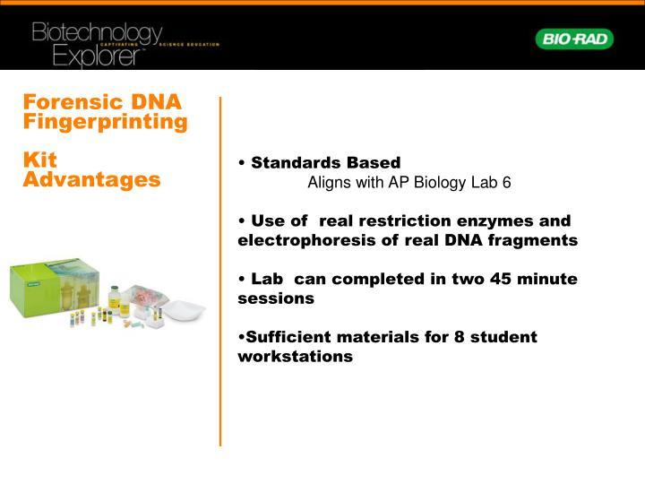 Forensic DNA Fingerprinting