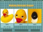making bitmaps bigger