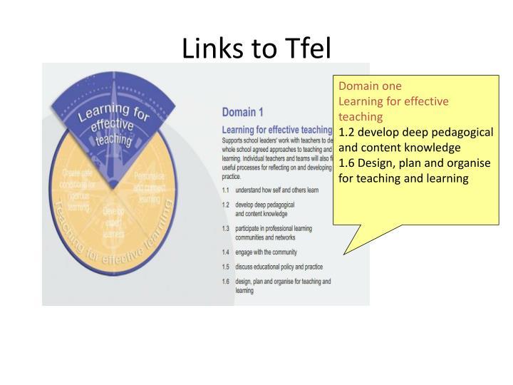 Links to Tfel
