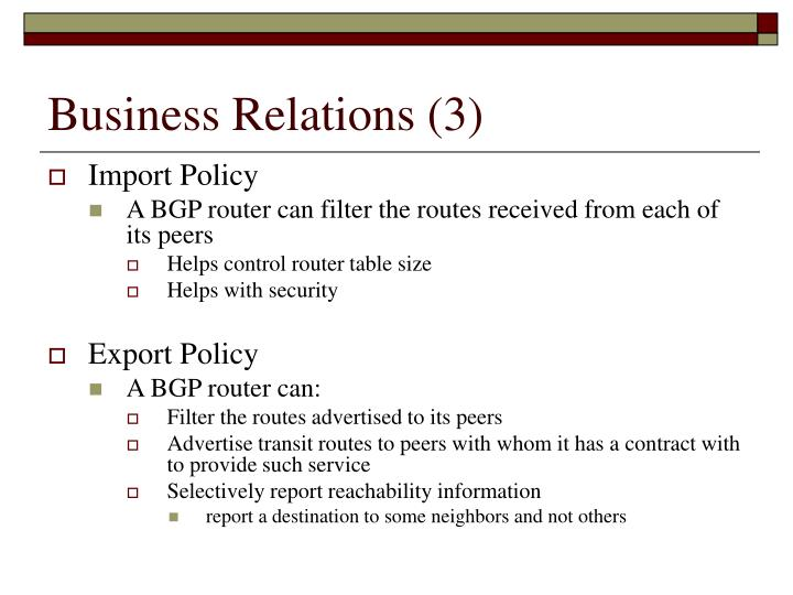 Business Relations (3)