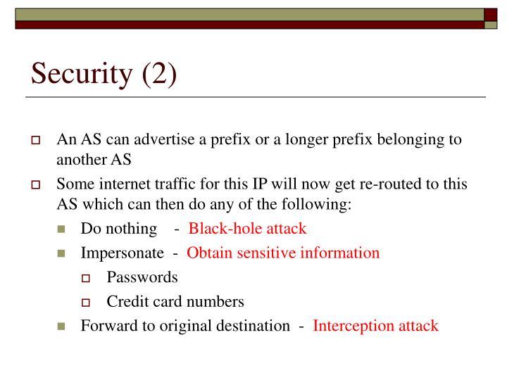 Security (2)