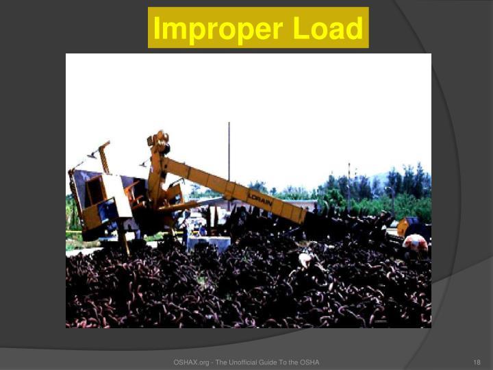 Improper Load