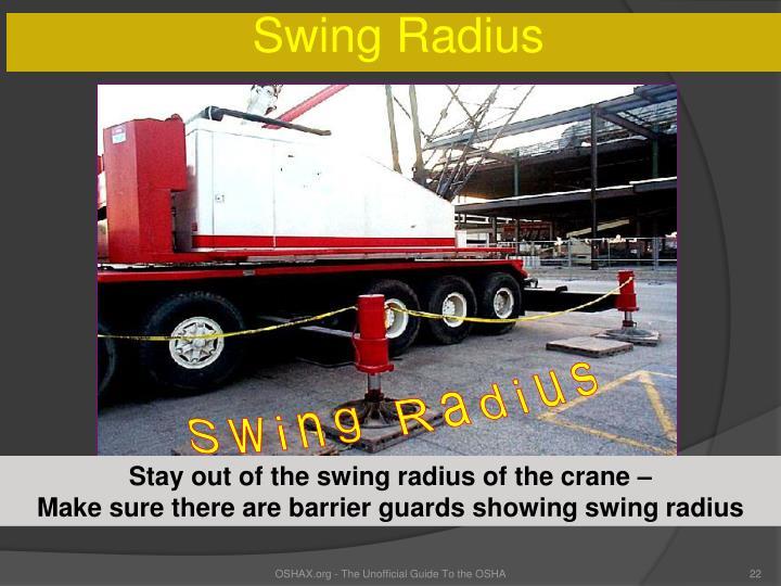 Swing Radius