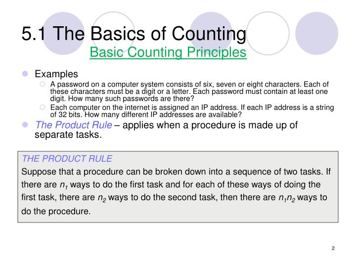 5 1 the basics of counting