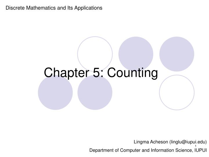 chapter 5 counting