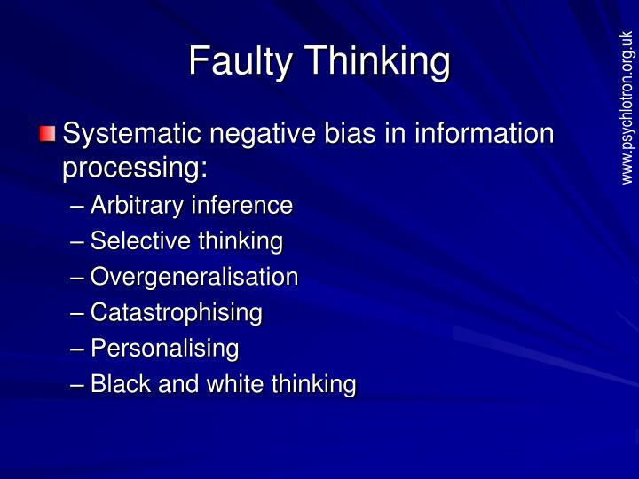 Faulty Thinking