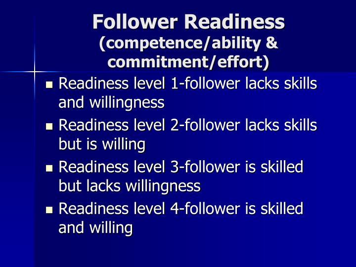 Follower Readiness