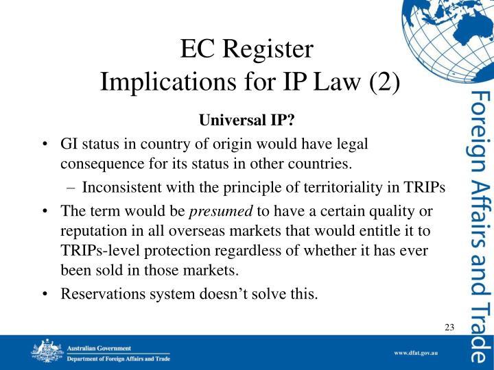 EC Register