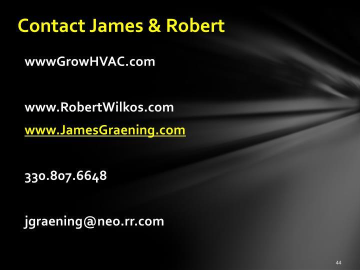 Contact James & Robert