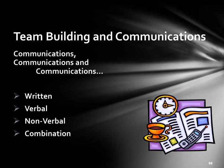 Team Building and Communications