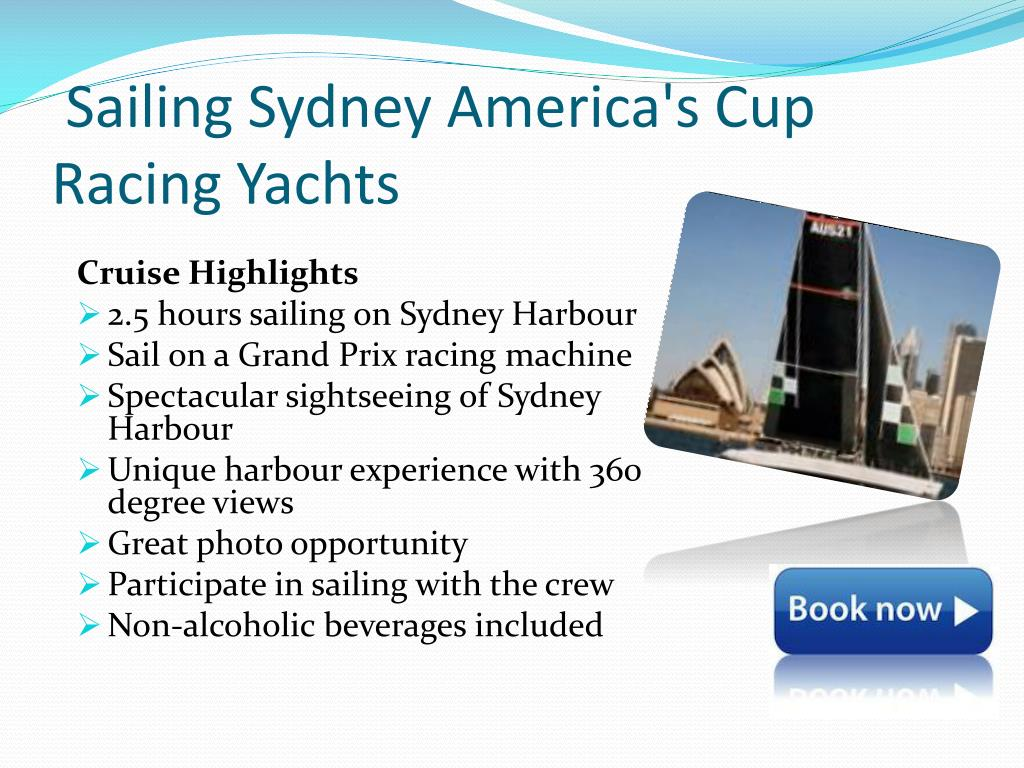Sailing Sydney America's Cup Racing Yachts