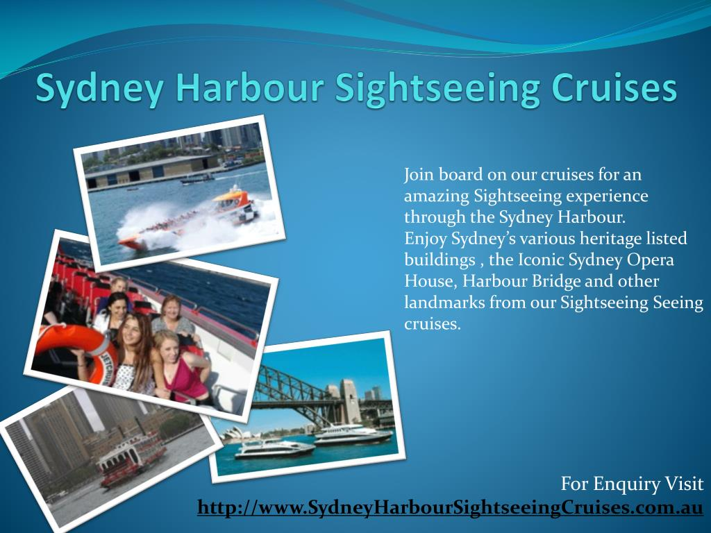 Sydney Harbour Sightseeing Cruises
